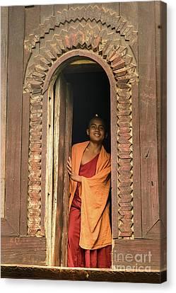 A Monk 4 Canvas Print