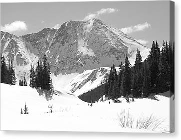 A Mountain Is A Buddha Canvas Print by Eric Glaser