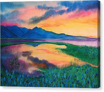 A New Beginning Canvas Print by Ramneek Narang
