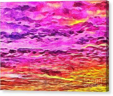 A New Dawn Canvas Print by Krissy Katsimbras