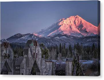A New Day At An Old Site Canvas Print