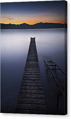 A New Day Canvas Print by Dominique Dubied