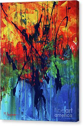 A New Day Canvas Print by Maria Arango