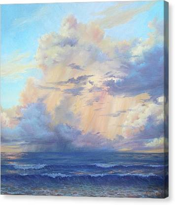 A New Day On The Gulf Canvas Print