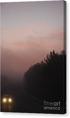 Canvas Print featuring the photograph A New Day by Viktor Savchenko