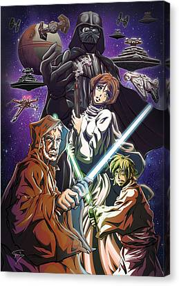 A New Hope Canvas Print by Tuan HollaBack