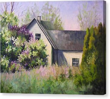 A New Season Begins Canvas Print by Debbie Lamey-MacDonald