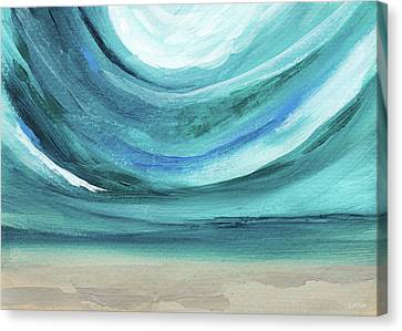 A New Start Wide- Art By Linda Woods Canvas Print by Linda Woods