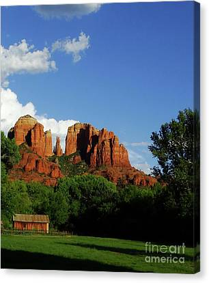 A New Take On Cathedral Rock Canvas Print