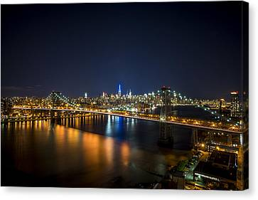 A New York City Night Canvas Print