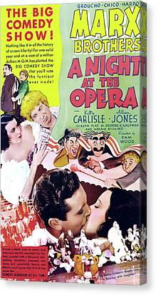 A Night At The Opera 1935 Canvas Print by M G M