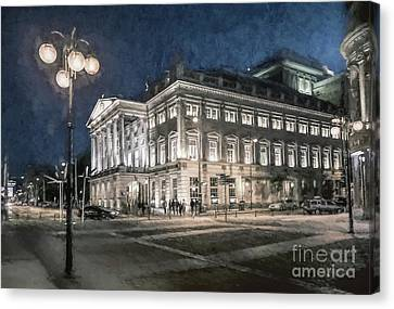A Night At The Opera Canvas Print by Philip Preston