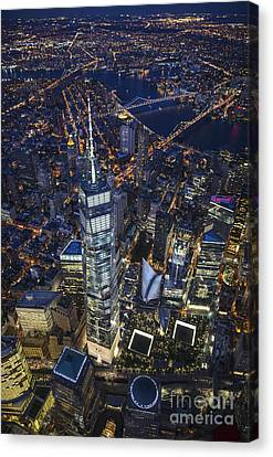A Night In New York City Canvas Print