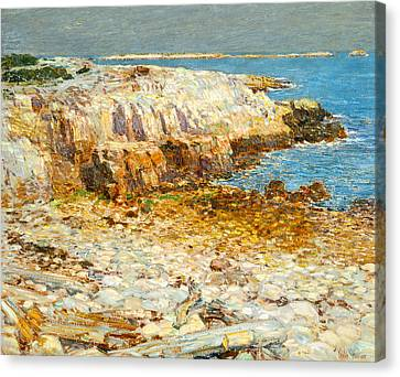 A North East Headland Canvas Print by Frederick Childe Hassam