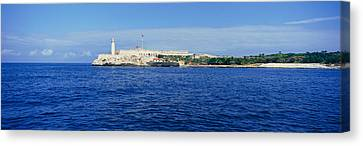 A Panoramic View Of Castillo Del Morro Canvas Print by Panoramic Images