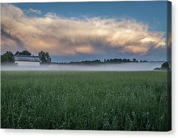 A Passing Spring Storm 2016-2 Canvas Print by Thomas Young