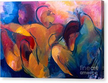 A Passion To Be Raised Canvas Print by Daun Soden-Greene