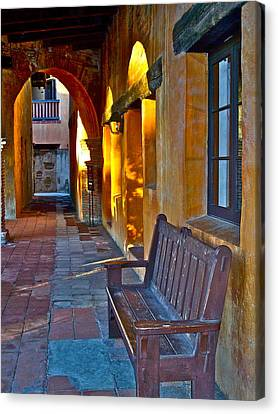 A Peaceful Resting Place Canvas Print by Karon Melillo DeVega