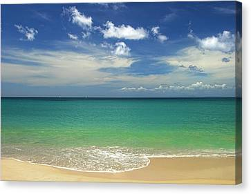 A Perfect Day- St Lucia Canvas Print