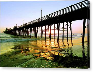 A Perfect Place Canvas Print by Howard Bagley