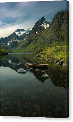 A Piece Of Peace Canvas Print by Tor-Ivar Naess