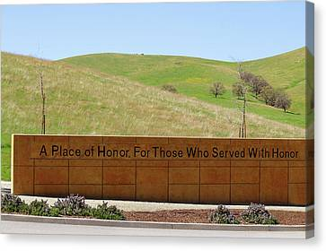 A Place Of Honor Canvas Print