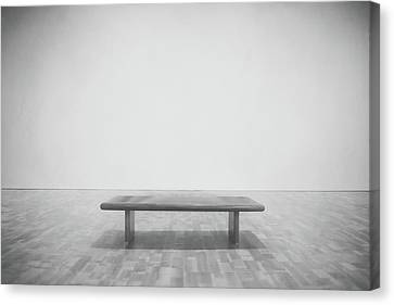 Empty Canvas Print - A Place To Sit 3 by Scott Norris