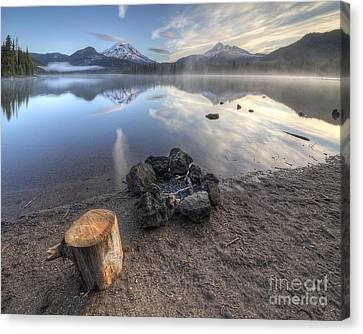 A Place To Sit Canvas Print
