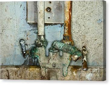 A Plumbers Nightmare Canvas Print
