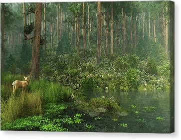 A Quiet Moment Canvas Print by Melissa Krauss