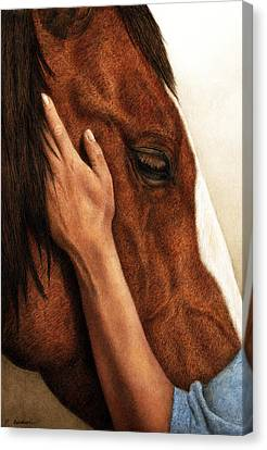 A Quiet Moment Canvas Print