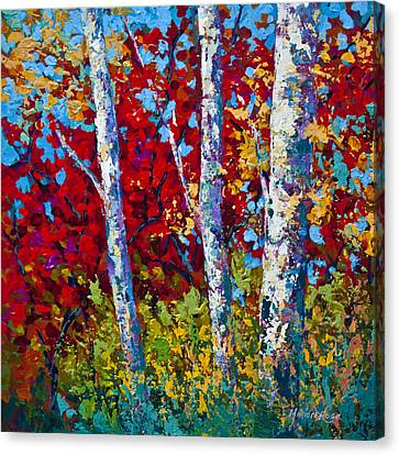 A Quiet Pause Canvas Print by Marion Rose
