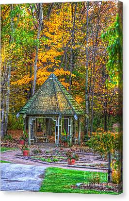 A Quiet Place-fall Time Canvas Print by Robert Pearson