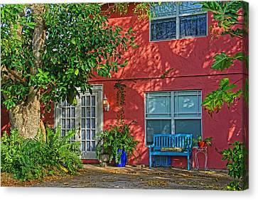 A Quiet Respite Canvas Print by HH Photography of Florida