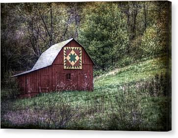 A Quilt Barn Canvas Print by Christine Annas
