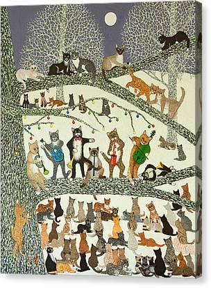 A Resounding Success Canvas Print by Pat Scott