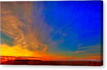 A Return To The Menno Lands #2 Canvas Print by JB Groves Godfrey