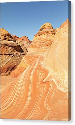 Canvas Print - A Ripple In The Wave by Tim Grams