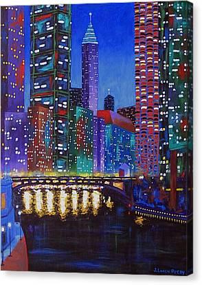 A River Runs Through It 2 Canvas Print by J Loren Reedy