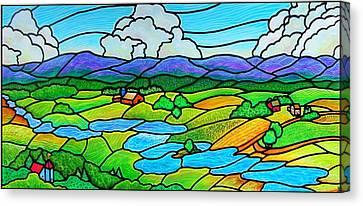 A River Runs Through It Canvas Print by Jim Harris