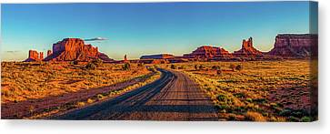 A Road Less Travelled Canvas Print by Az Jackson