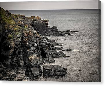 Kernow Canvas Print - A Rocky End by Martin Newman