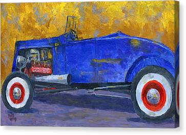 Custom Ford Canvas Print - A Rod by David King