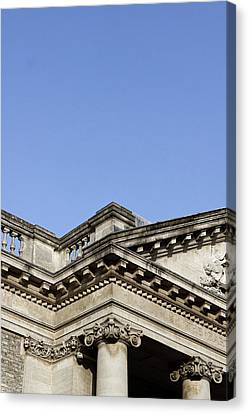 Library Canvas Print - A Roman Building by Tom Gowanlock