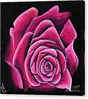 Canvas Print - A Rose In Time by Kasia Bitner