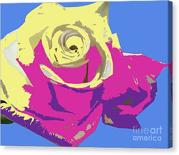 Canvas Print - A Rose Is A Rose by Karen Nicholson