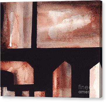 A Rt.80 Abstract Canvas Print
