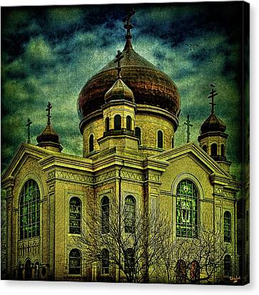 A Russian In Brooklyn Canvas Print by Chris Lord