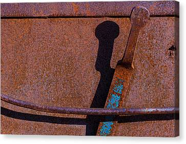 Canvas Print featuring the photograph A Rusted Development II by Paul Wear
