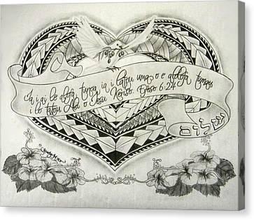 A Samoan Blessing Canvas Print